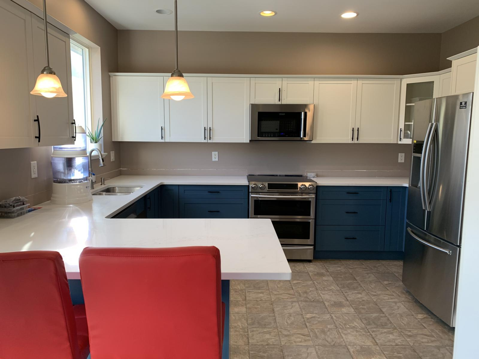 Kitchen cabinet painting victoria