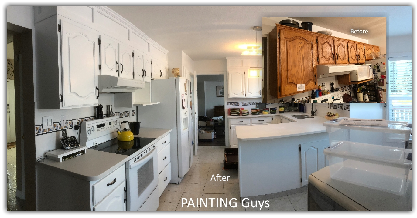 Oak cabinet painter - PAINTING Guys