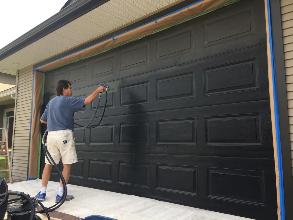 Steel Garage Doors Painting Guys