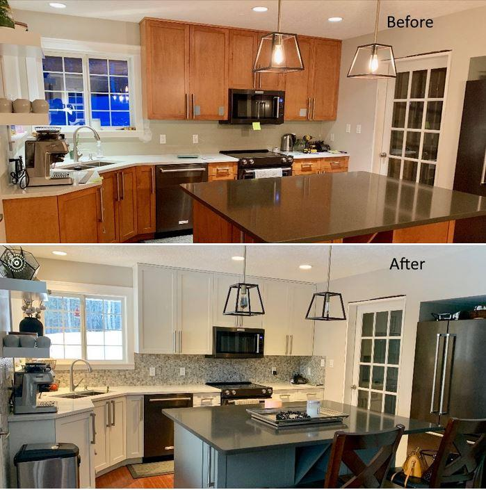 Kitchen Cabinet Painting Victoria Nanaimo Painting Guys