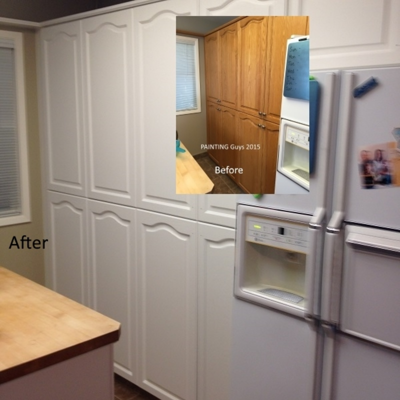 Prince George Kitchen Cabinet - PAINTING Guys
