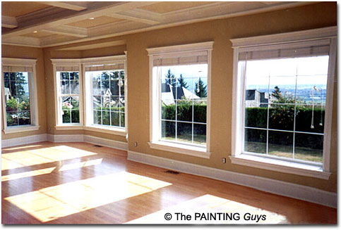 Coffer Ceiling Painting - PAINTING Guys