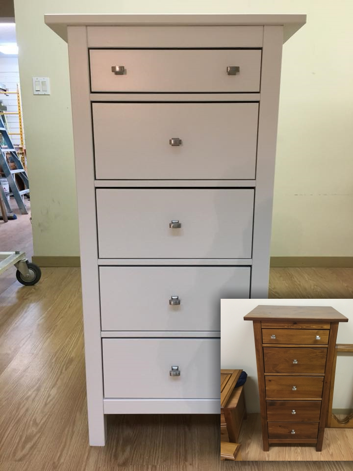furniture painting dresser