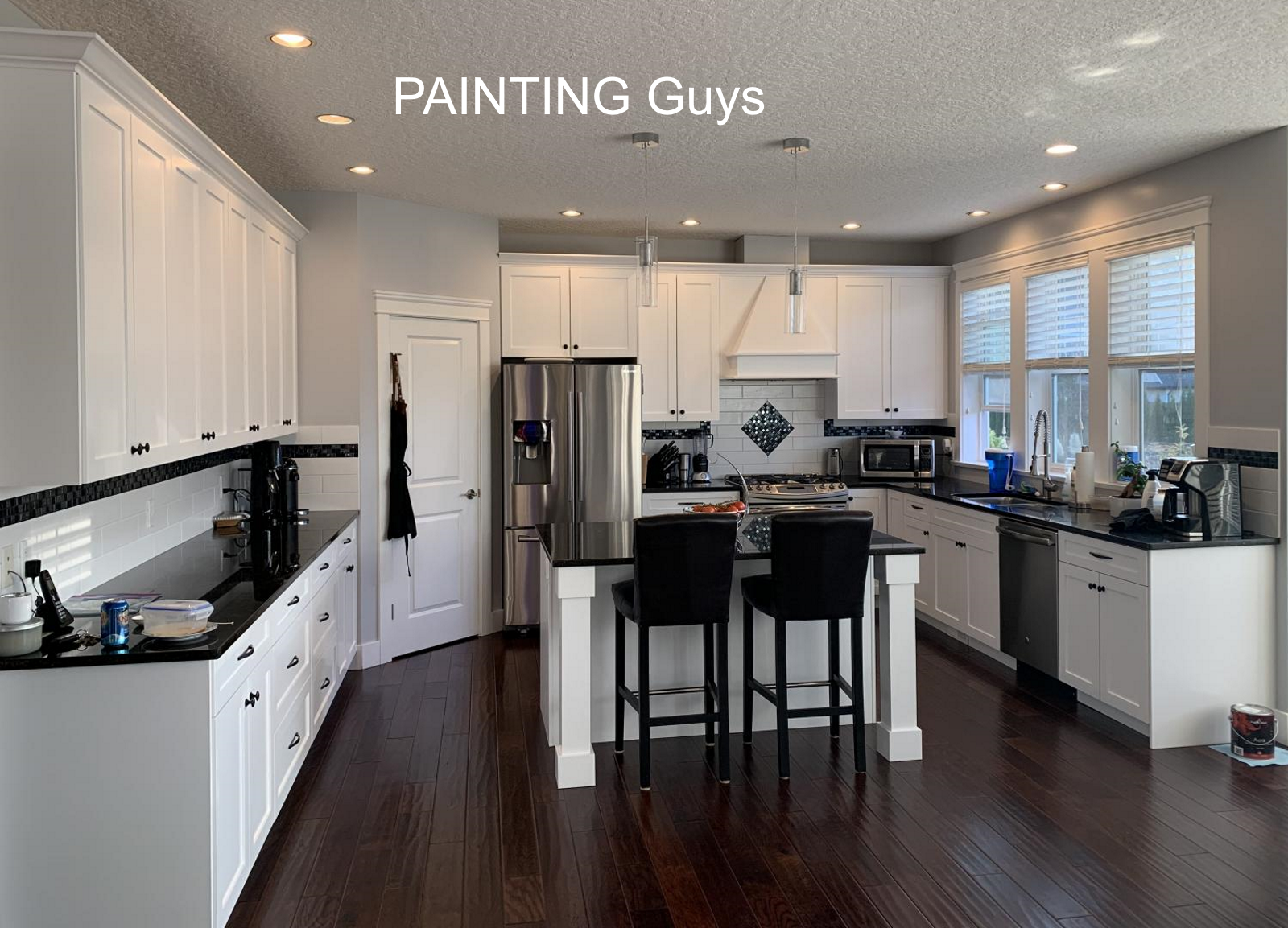 Mill Bay kitchen cabinet painting PAINTING Guys