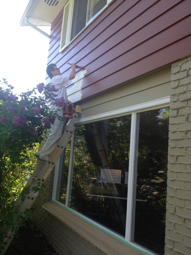 exterior painting by PAINTING Guys
