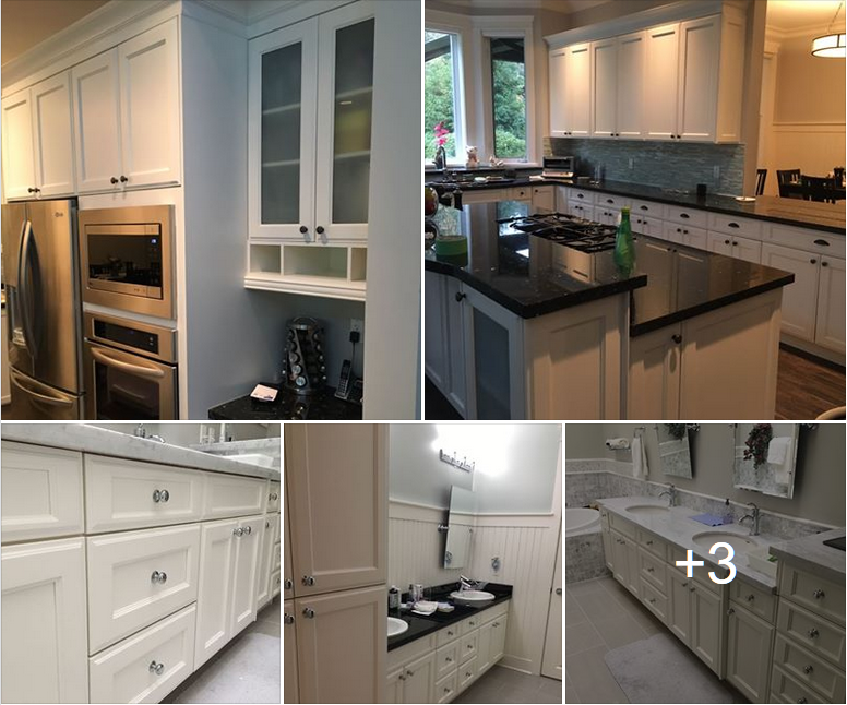 Maple Cabinets | PAINTING Guys
