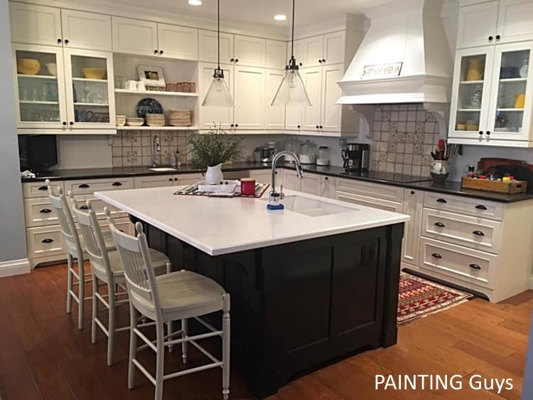 Custom kitchen cabinet painting - PAINTING Guys
