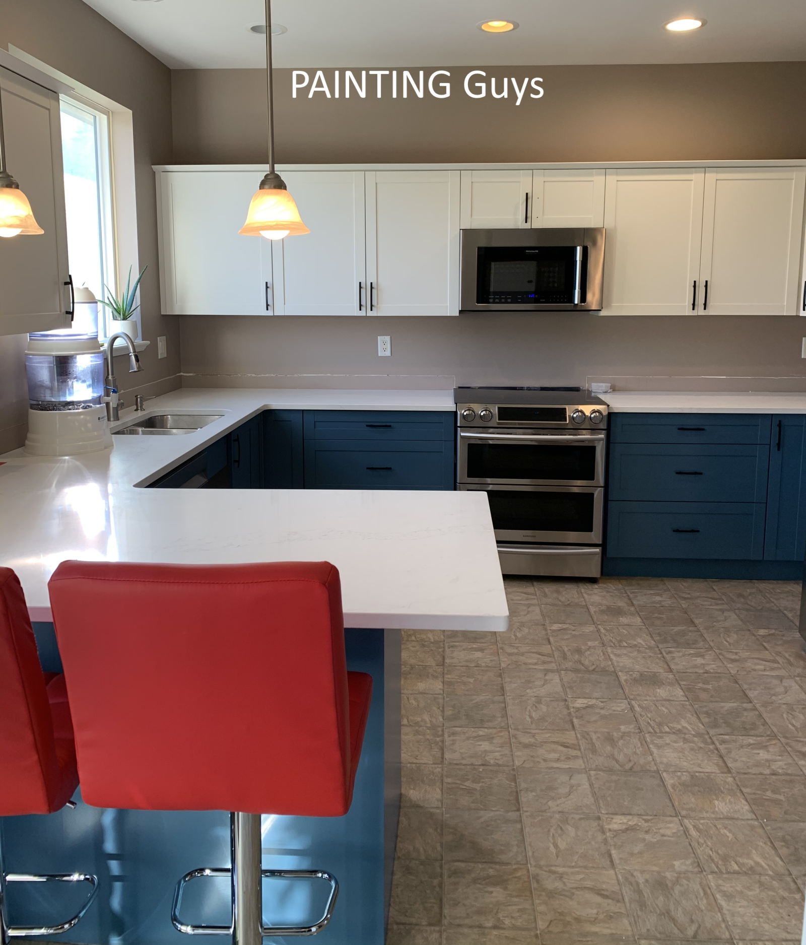How to Paint Laminate Kitchen Cabinets - Langford BC