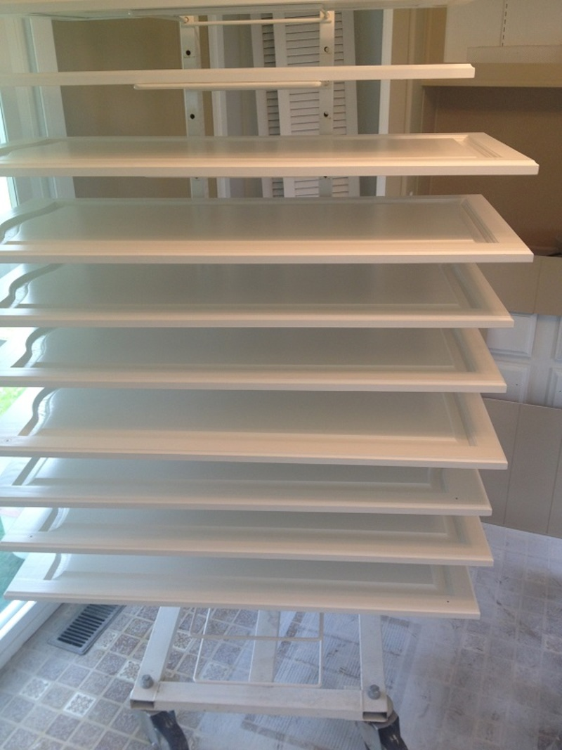 Cabinet Drying Racks Painting Guys