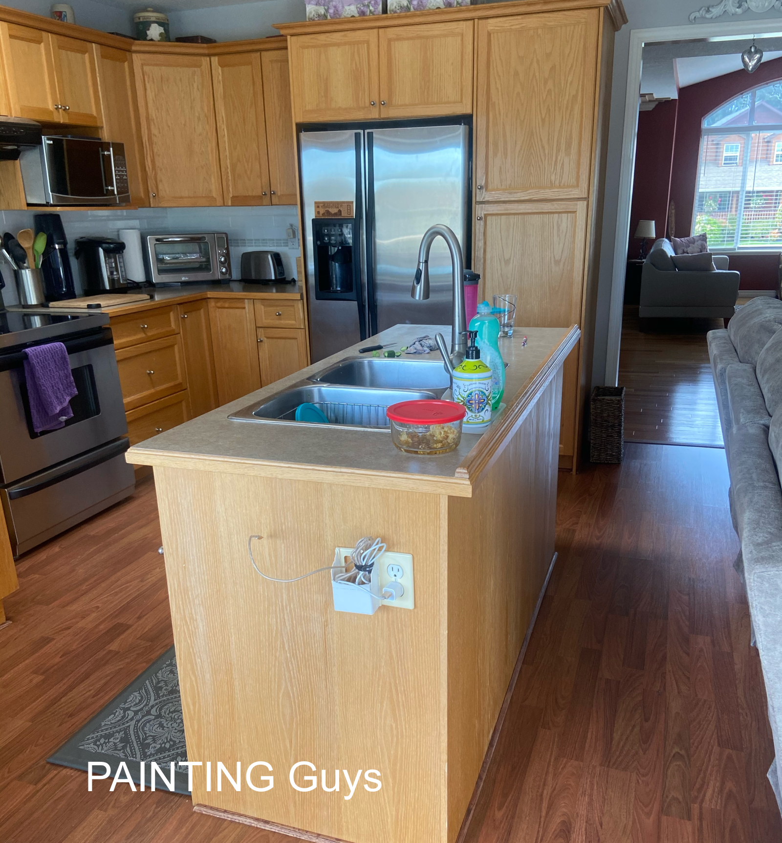 Nanaimo Kitchen Cabinet Painters