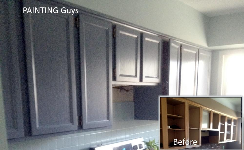 Grey kitchen cabinets - PAINTING Guys
