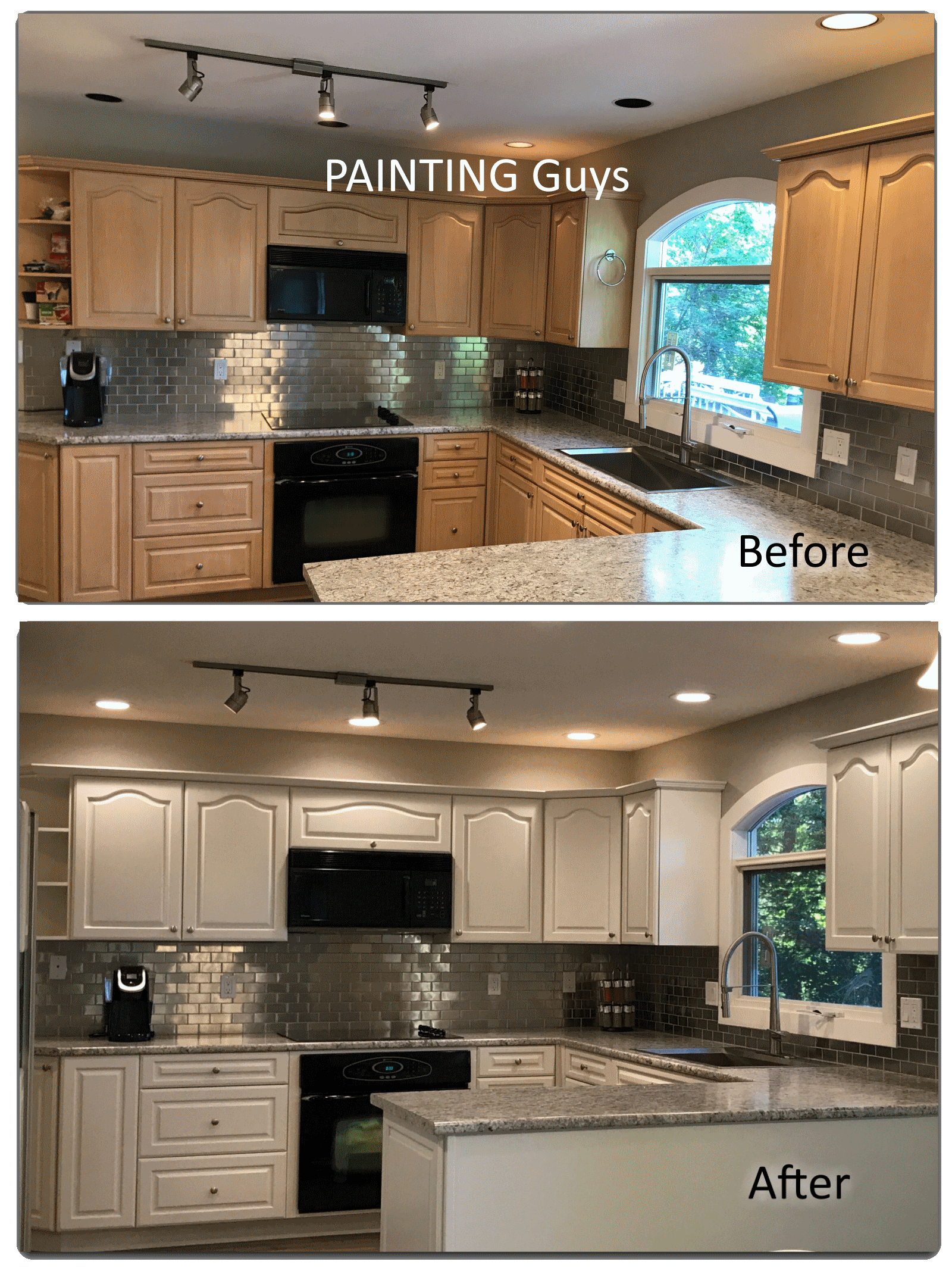 Kitchen Cabinet Refinishing Vancouver Island