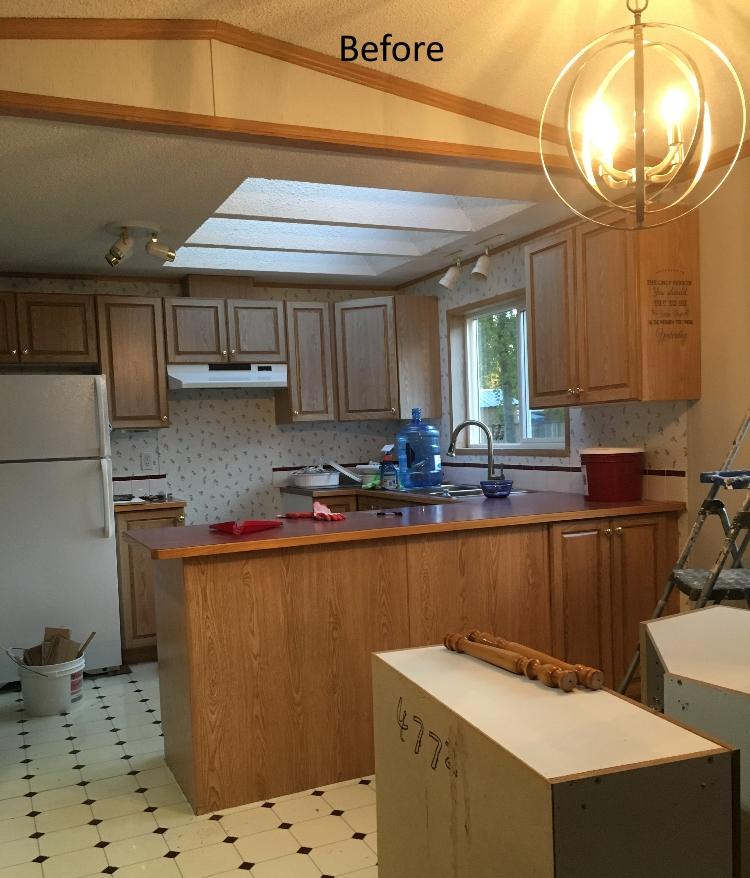 Paint mobile home MDF kitchen cabinets - PAINTING Guys