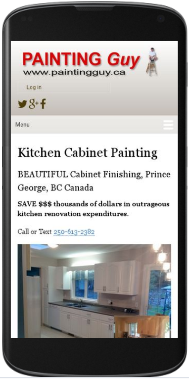 Cabinet painting - contact us