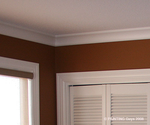 crown moulding - PAINTING Guys