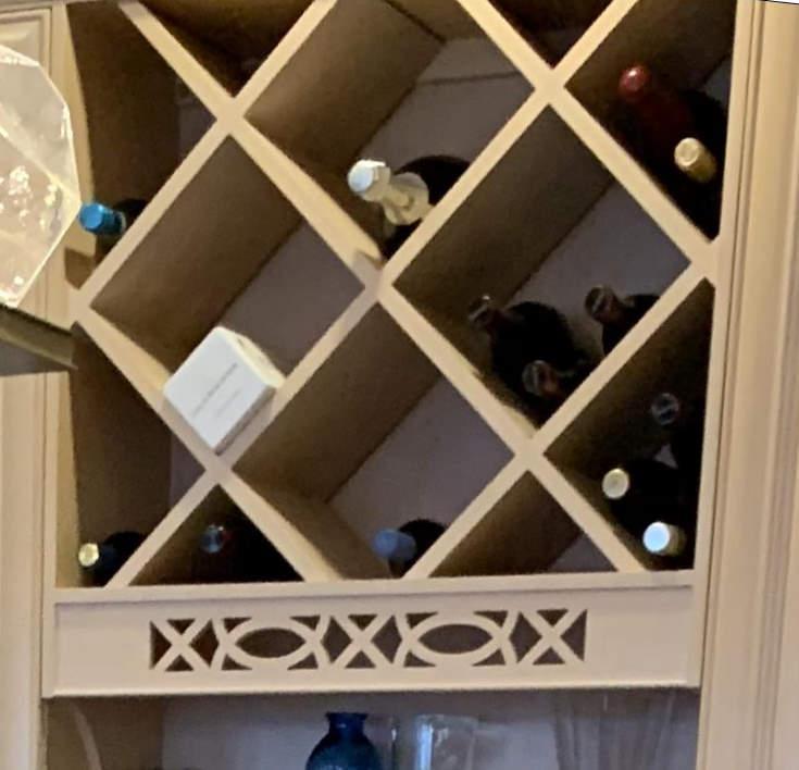 Painting Kitchen Cabinet Wine Racks Painting Guys