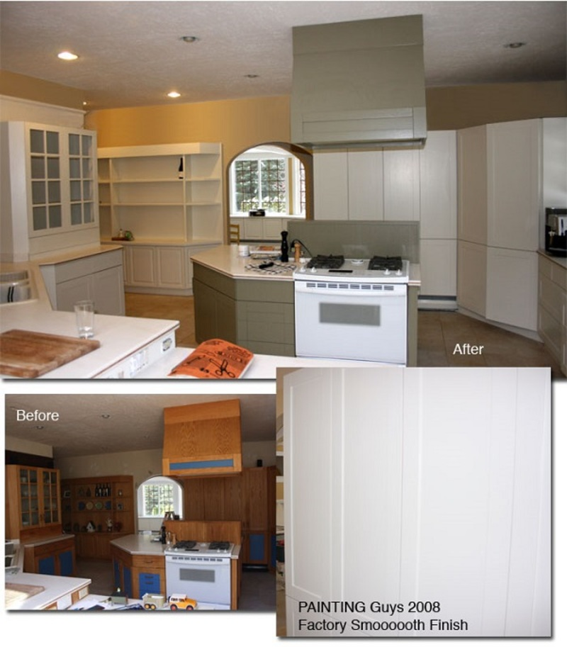Kitchen cabinet painter